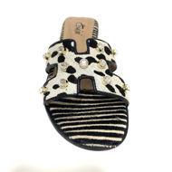 Rasteira Capri 0128 Zebra