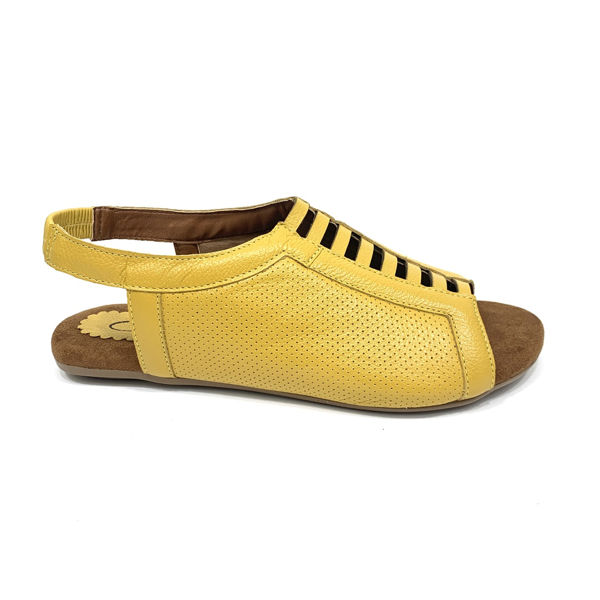 Rasteira Fini 8312 Amarelo