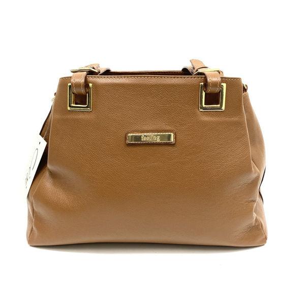 Bolsa Coura 0739 Caramelo