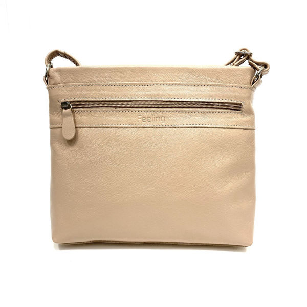 Bolsa Coura 8206 Nude